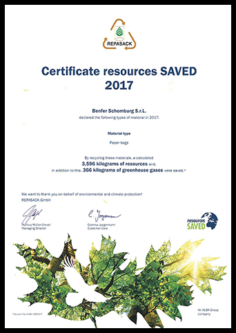 Certificate resources SAVED 2017