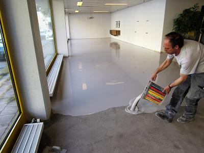 podłogi na bazie żywic epoksydowych